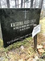 Katrina Kurvisen Hauta